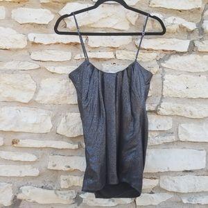 4/$20 Laundry by Shelli Segal Shimmer Tank M